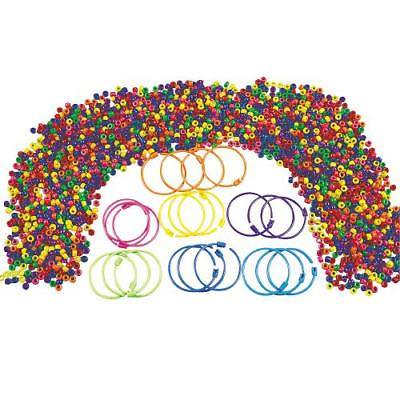 IN-57/296 Pony Bead Bracelet Kit Makes - Pony Bead Bracelets