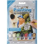 "Mini Paint By Number Kit 5""X7""-Eastern Bluebird"
