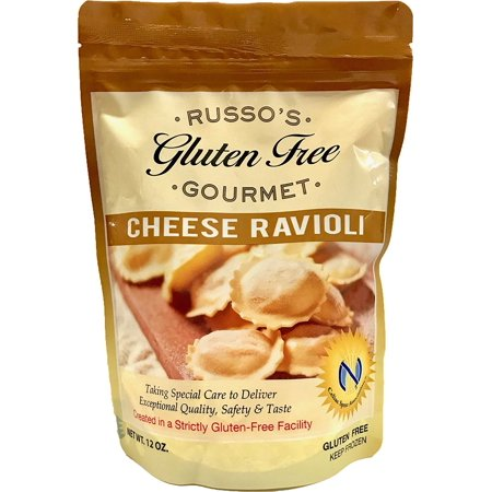 Russo's Gluten Free Cheese Ravioli 12 Oz (Pack of 3) - The Best Italian GF Pasta for a delicious and satisfying meal