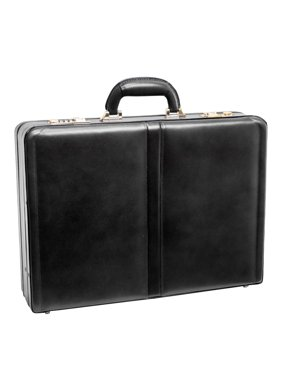 Harper Expandable Attache Case, Black