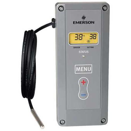 EMERSON Electronic Temp Control,24 to 240VAC 16E09-101
