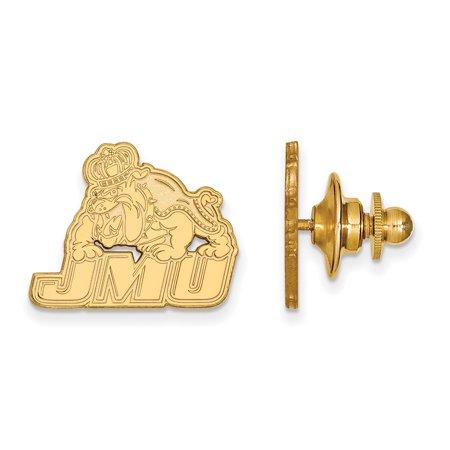 LogoArt 14k Yellow Gold James Madison University Lapel Pin 4Y019JMU