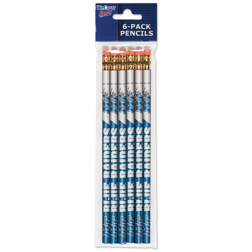 American Logo Products Middle Tennessee State Blue Raiders Pencils, 6-Pack