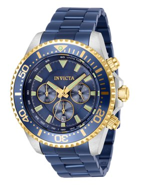 Invicta Men's 24840 Pro Diver Quartz Chronograph White Dial Watch
