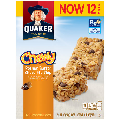UPC 030000318225 - Quaker Chewy Peanut Butter Chocolate ... Quaker Chewy Granola Bars Barcode