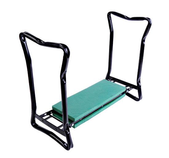 Outsunny Folding Garden Kneeler Bench Chair - Green