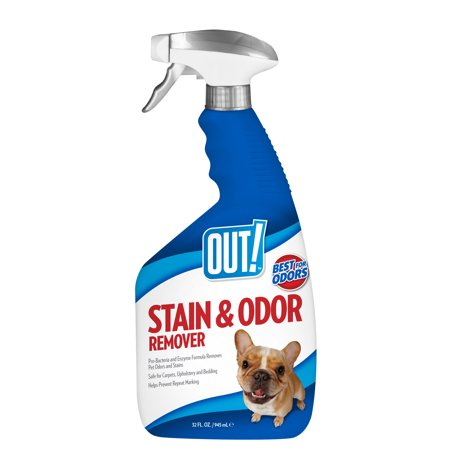 - OUT! Pet Stain & Odor Remover, 32 oz