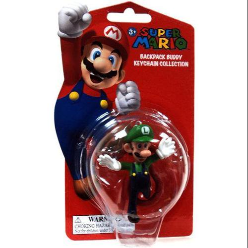 Popco - Super Mario Backpack Buddy Collection Luigi Keychain - Walmart.com 1d4d65446