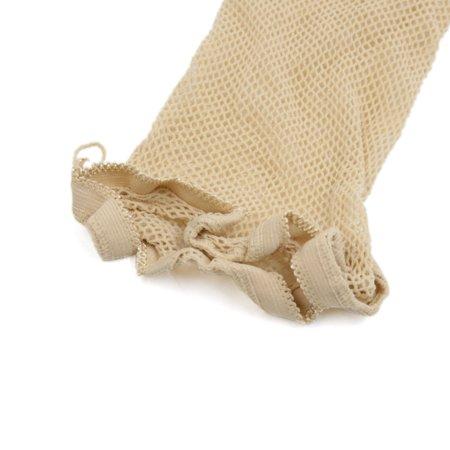 10 Pcs Skin Color Stretchy Open End Net Mesh Stocking Snood Wig Cap - image 1 de 3