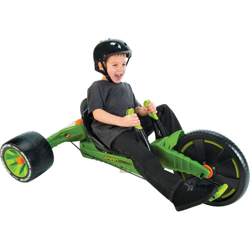 """16"""" Huffy Green Machine Jr. Thrill Ride Boys' Ride-On, Assorted Colors"""