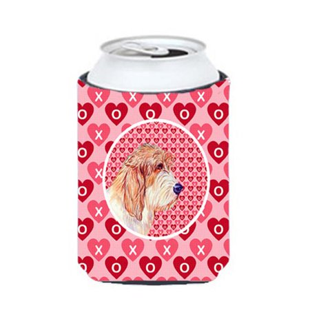 Petit Basset Griffon Vendeen Valentines Love and Hearts Can or bottle sleeve Hugger - image 1 of 1