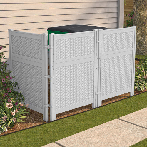 Suncast Reversible Outdoor Screen Enclosure Panel
