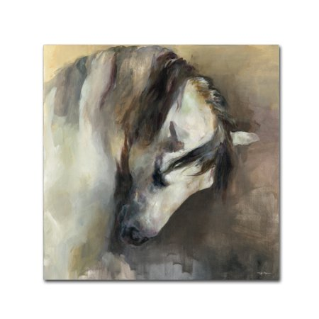 Trademark Fine Art 'Classical Horse' Canvas Art by Marilyn