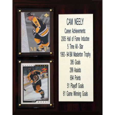 C&I Collectables NHL 8x10 Cam Neely Boston Bruins Career Stat Plaque