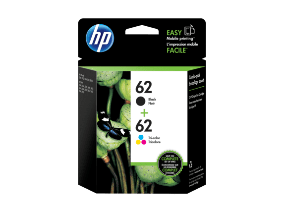 3PK Black 62XL 62-XL Ink For HP C2P05AN ENVY 5540 5643 5542 5544 5640 5642 5560