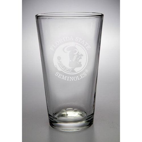 NCAA - Florida State Seminoles 16 oz Deep Etched Pub Pint Glass