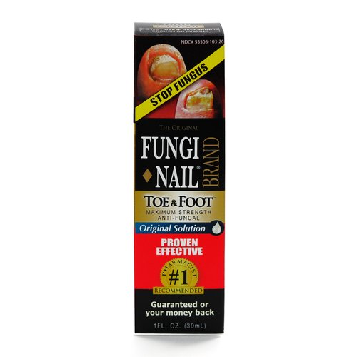 FungiNail Double Strength Anti-Fungal Solution, 1 fl oz