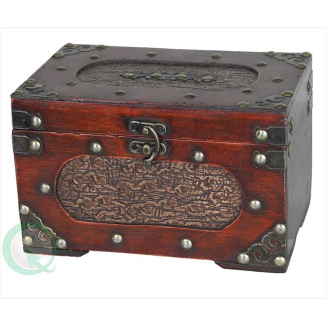 Quickway Imports QI003015 Small Treasure Chest
