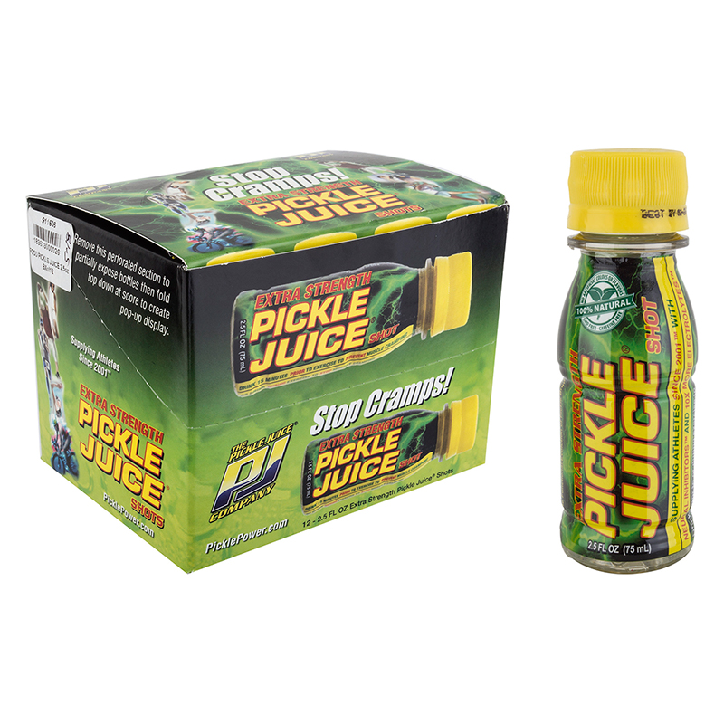 Pickle Juice Company Extra Strength Pickle Juice Shots 2.5oz Bxof12