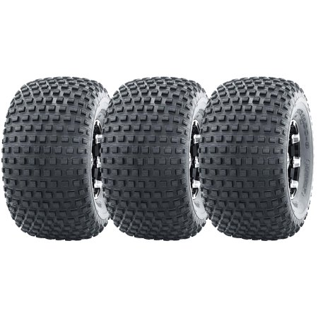 3 New WANDA ATV Tires 22X11-8 22x11x8 4PR P323 for 3 wheelers -