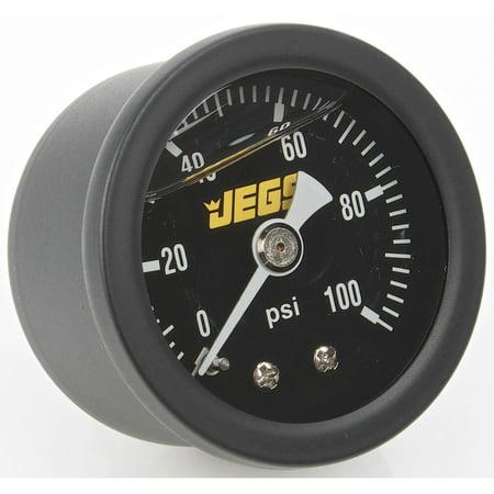 JEGS 41513 Fuel Pressure Gauge 1-1/2 in. -