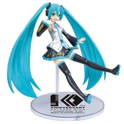 Sega Vocaloid Hatsune Miku Project Diva XHD SPM Figure - 10th Anniversary