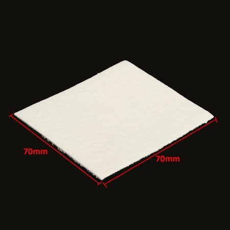 10/30/50PCS Sheets Square Fiber Paper For Microwave Kiln Glass Fusing 70x70mm - image 2 of 7