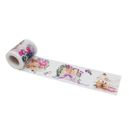 Wrapables® Dreamy Artistic Wide Washi Masking Tape, 50mm x 10m, Artistic Stationery