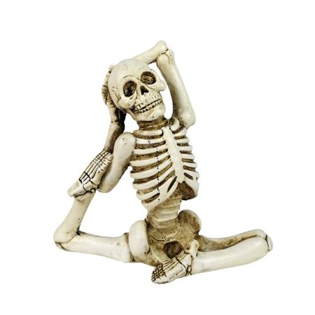 The Holiday Aisle Halloween Yoga Figurine