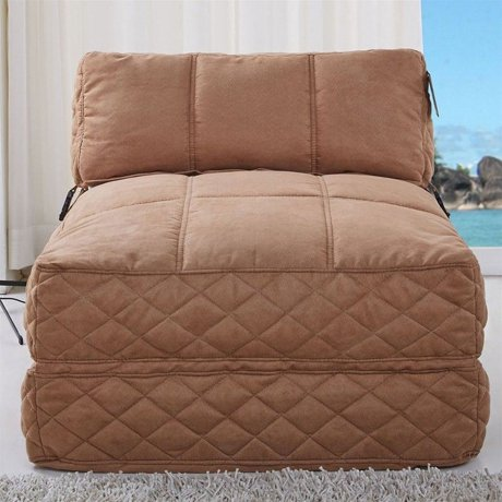 Gold Sparrow Austin Convertible Bean Bag Chair Bed In