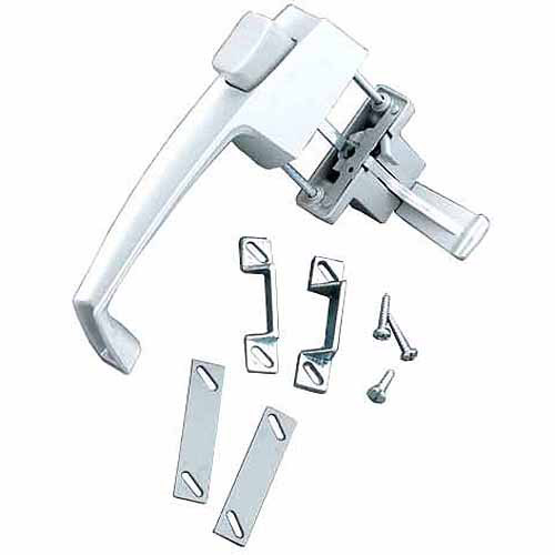 Wright Products V333WH White Screen and Storm Door Pushbutton Latches