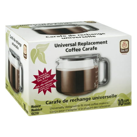 Medelco Universal Replacement Coffee Carafe - 10 CUPS, 1.0 CT