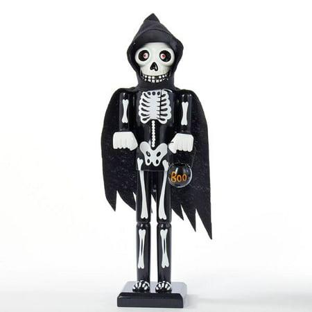 15 Inch Skeleton Wooden Halloween Nutcracker - Halloween Nutcrackers