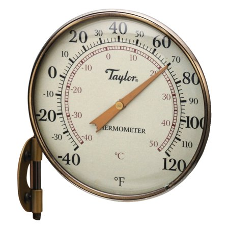 """Taylor 481bzn Heritage Collection Dial Thermometer, 4.25"""""""