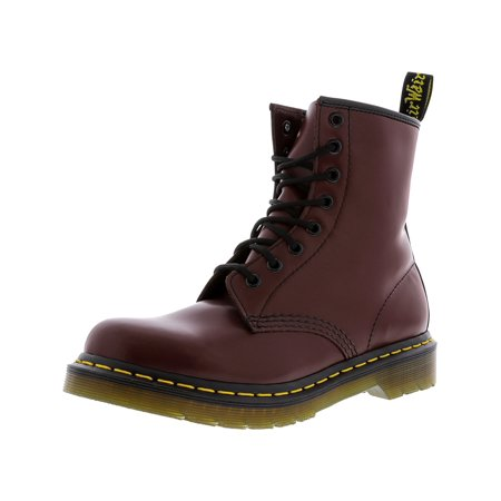 Dr. Martens Women's 1460 8-Eye Cherry Red Rogue High-Top Leather Boot - 7M