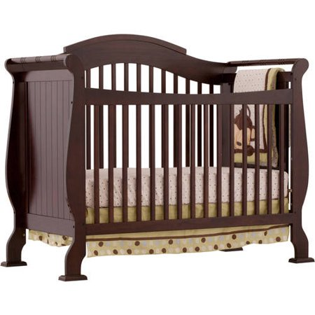 Storkcraft Valentia 4 In 1 Convertible Crib Espresso