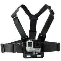 Ultimaxx Adjustable Chest Mount Harness For GoPro Cameras - One Size Fits Most, Chest Mount Designed for GoPro Hero Camera - Perfect for Extreme Sports