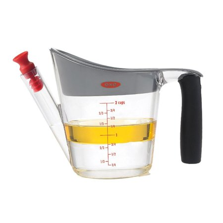 Good Grips Fat Separator (Good Grips 2-Cup Fat Separator, Constructed of heat-resistant plastic By OXO )
