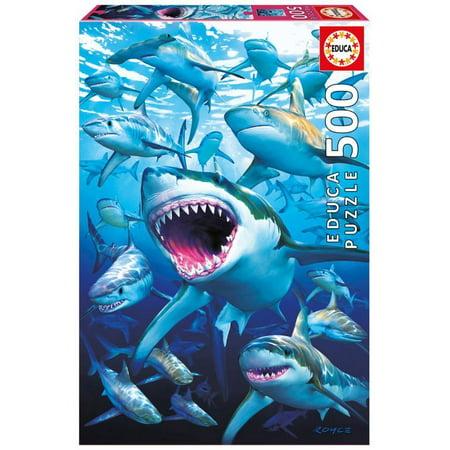 Shark Club 500 Piece Puzzle - Club Penguin Halloween Puzzles