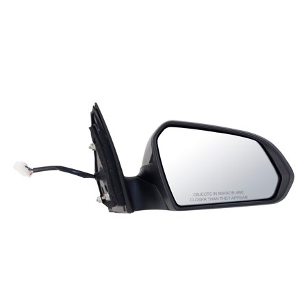 Will Not Fit Models - 65547Y - Fit System Passenger Side Mirror for 15-18 Hyundai Sonata, Eco, textured black w/ PTM cover, w/ turn signal, foldaway, w/o spot Mirror, Heated Power (will not fit Hybrid or Plug-In Models)