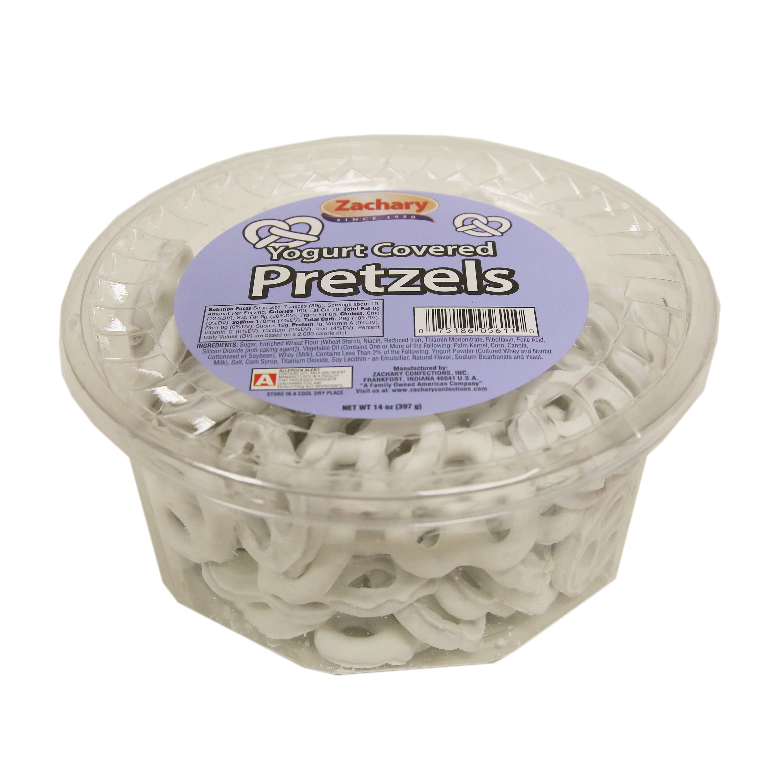 Zachary, Yogurt Covered Pretzels, 14 Oz