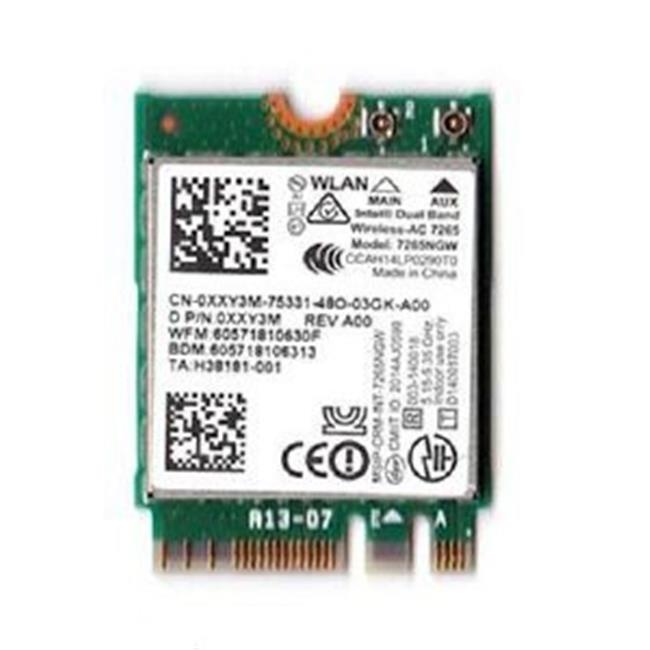 Intel 7265NGWGW Wi-Fi - Bluetooth Combo Adapter For Desktop