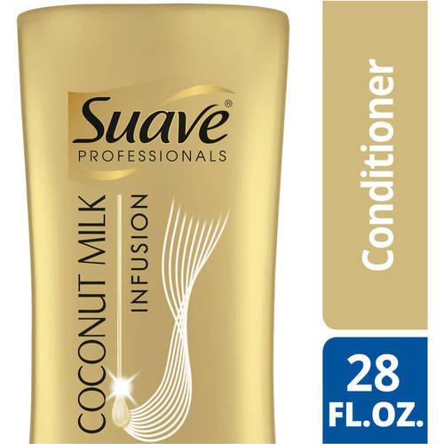 Suave Professionals Coconut Milk Infusion Deep Moisture Conditioner, 28 oz
