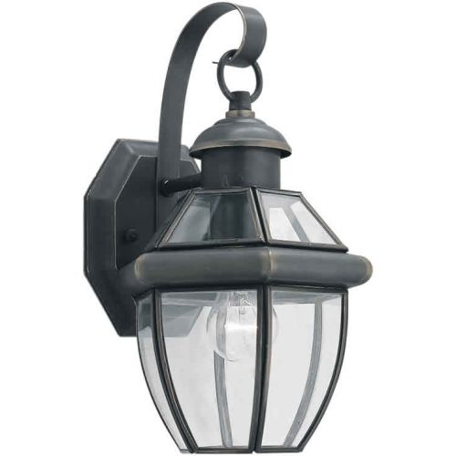 Forte Lighting 1101-01 Outdoor Wall Sconce from the Exterior Lighting Collection