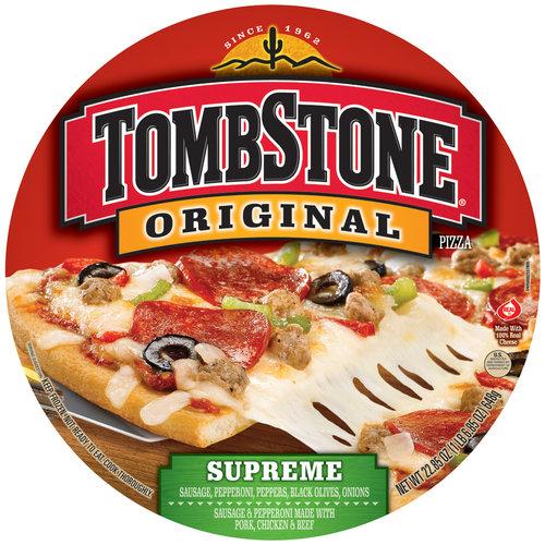 Tombstone Original Supreme Pizza, 22.85 oz