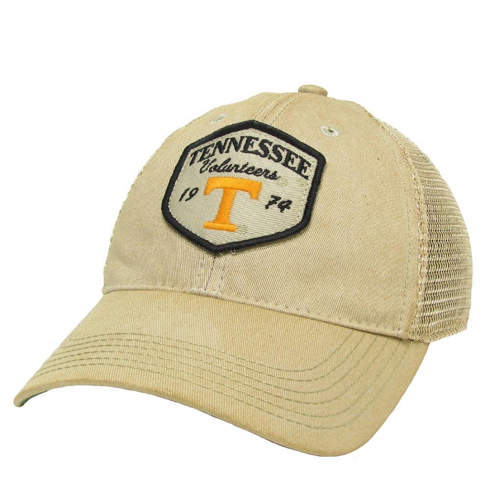 Tennessee Volunteers Tan OFA Mesh Back Trucker - Patch