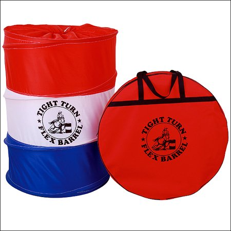 Nfr Barrel Racing - RED WHITE BLUE US FLAG BARREL RACING TIGHT TURN POP UP FLEX FLEXIBLE 3 PIECE SET