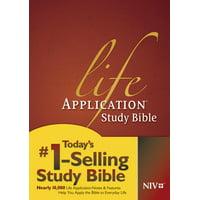 Life Application Study Bible NIV (Hardcover)
