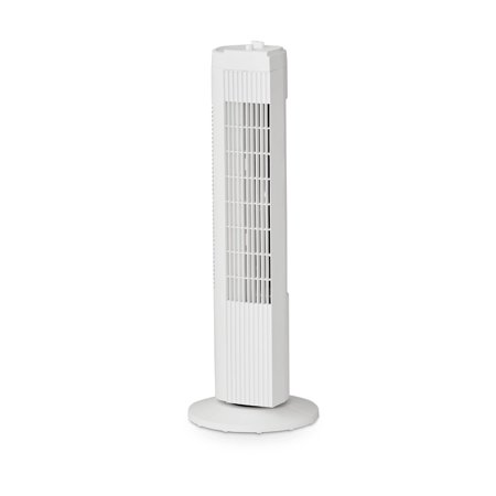 "Mainstays 28"" TOWER FAN WHT, FZ10-19MW, WHITE"