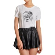 032bc05e5f920 Vietsbay's Women Snake with tree Printed Short Sleeves T-shirt WTS_07 Size S